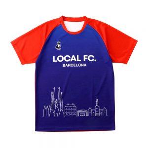 Overseasプラクティスシャツ(ネイビー)