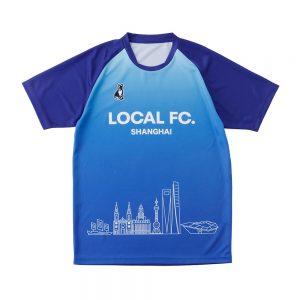 Overseasプラクティスシャツ(ブルー)