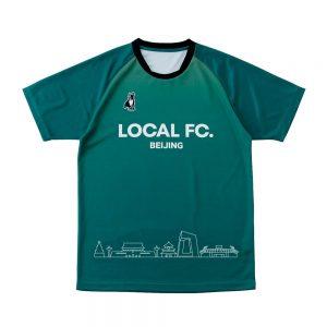 Overseasプラクティスシャツ(グリーン)