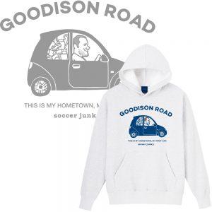 Goodison road プルパーカー(ホワイト)