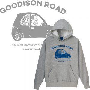 Goodison road プルパーカー(ヘザーグレー)