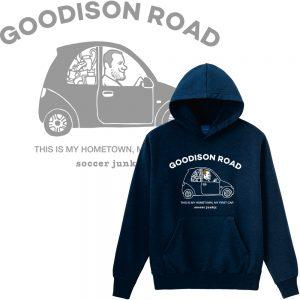 Goodison road プルパーカー(ネイビー)