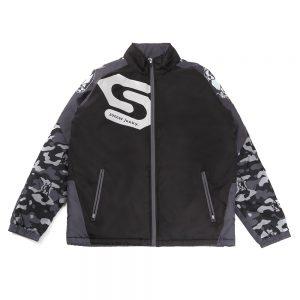 Sの証明 中綿ジャケット(ブラック)