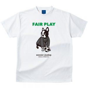 FAIR PLAY Dry Tシャツ(ホワイト)