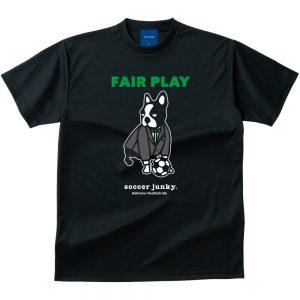 FAIR PLAY Dry Tシャツ(ブラック)