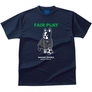 FAIR PLAY Dry Tシャツ(ネイビー)