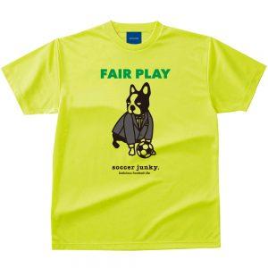 FAIR PLAY Dry Tシャツ(蛍光イエロー)