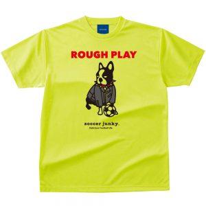ROUGH PLAY Dry Tシャツ(蛍光イエロー)