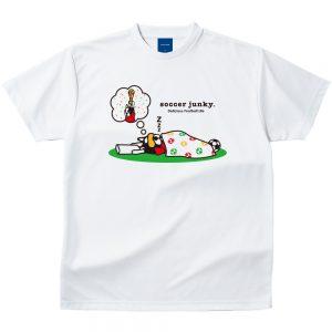 夢にW杯 Dry Tシャツ(ホワイト)