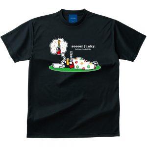 夢にW杯 Dry Tシャツ(ブラック)
