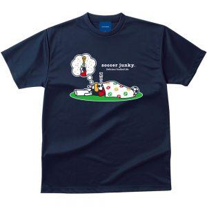 夢にW杯 Dry Tシャツ(ネイビー)