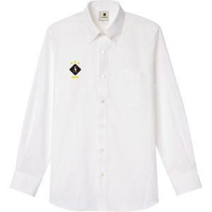 HANABI+7 オックスフォードシャツ (ホワイト)