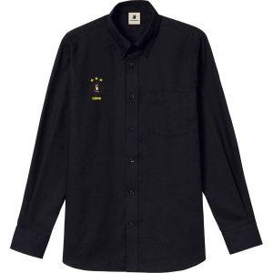 HANABI+7 オックスフォードシャツ (ブラック)
