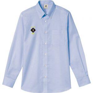 HANABI+7 オックスフォードシャツ (サックス)
