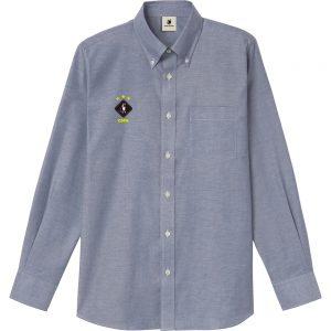 HANABI+7 オックスフォードシャツ (デニム)
