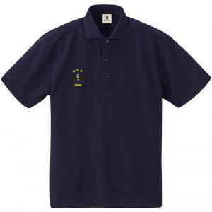 Kit dog ポロシャツ (ネイビー)