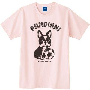 Pandiani !!! 半袖TEE(ライトピンク)