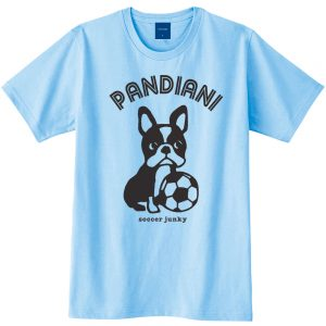 Pandiani !!! 半袖TEE(ライトブルー)