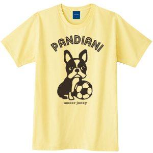 Pandiani !!! 半袖TEE(ライトイエロー)