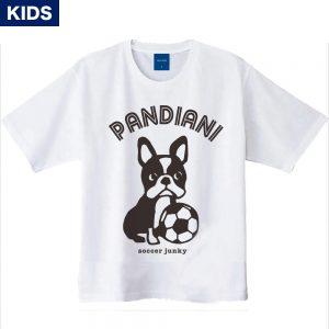 Pandiani !!! キッズ 半袖TEE(ホワイト)