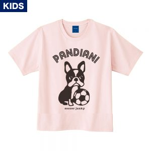 Pandiani !!! キッズ 半袖TEE(ライトピンク)