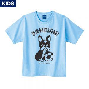 Pandiani !!! キッズ 半袖TEE(ライトブルー)