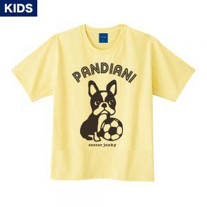 Pandiani !!! キッズ 半袖TEE(ライトイエロー)