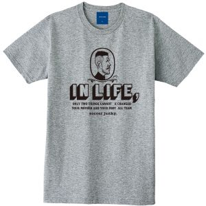 IN LIFE 半袖TEE(ヘザーグレー)