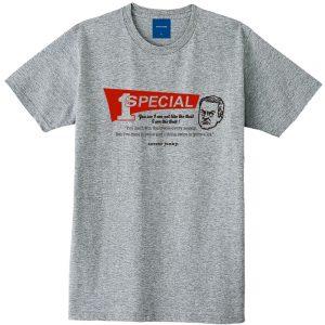 SPECIAL1 半袖TEE(ヘザーグレー)