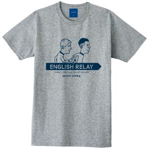 ENGLISH RELAY 半袖TEE(ヘザーグレー)