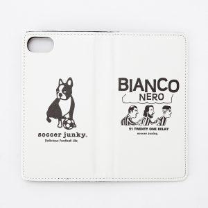 BIANCO NERO iPhone7/8手帳型ケース