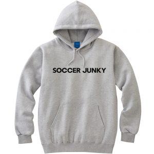 SOCCER JUNKY プルパーカー (ヘザーグレー)