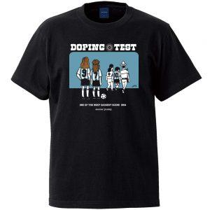 Doping test 半袖TEE (ブラック)