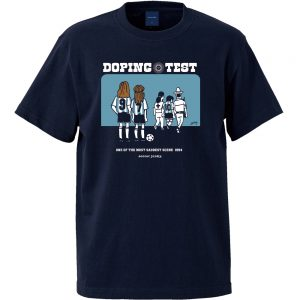Doping test 半袖TEE (ネイビー)