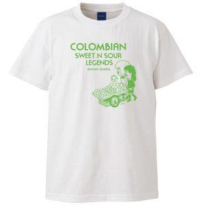 Colombian 半袖TEE (ホワイト)