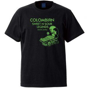 Colombian 半袖TEE (ブラック)
