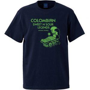 Colombian 半袖TEE (ネイビー)