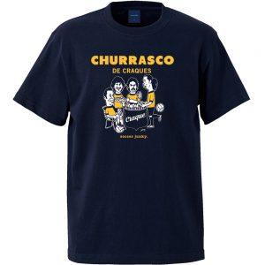 Churrasco! 半袖TEE (ネイビー)