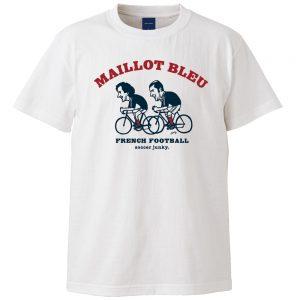 Maillot bleu 半袖TEE (ホワイト)