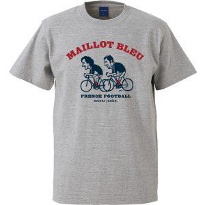 Maillot bleu 半袖TEE (ヘザーグレー)