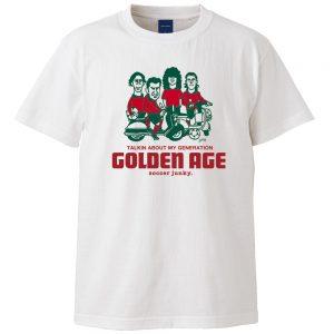 Golden age 半袖TEE (ホワイト)