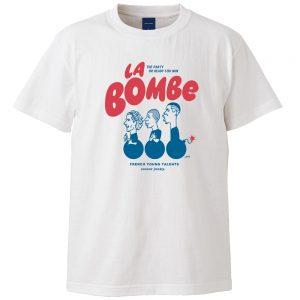 La bombe 半袖TEE (ホワイト)