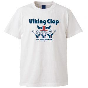 Viking clap 半袖TEE (ホワイト)