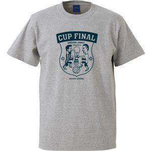 Cup Final?! 半袖TEE (ヘザーグレー)