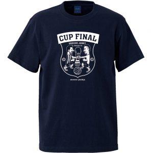 Cup Final?! 半袖TEE (ネイビー)