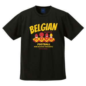 ベルギーワッフル DryTEE (ブラック)