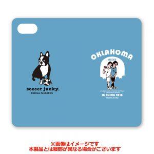 オクラホマ iPhone7/8手帳型ケース