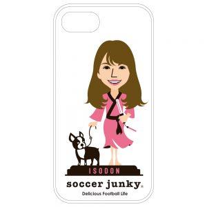 磯佳奈江×soccer junkyコラボiPhone7/8 ハードケースA