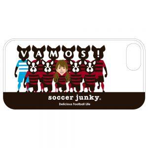 磯佳奈江×soccer junkyコラボiPhone7/8 ハードケースE
