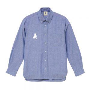 smart+7 オックスフォードシャツ (ブルー)